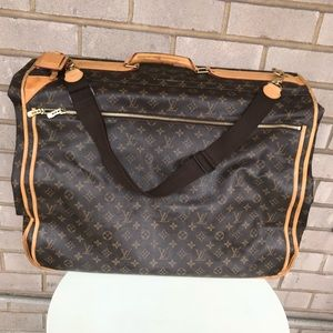 Authentic Louis Vuitton Monogram Garment Bag